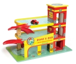 Dino's garage - Le toy van