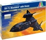 Italeri - SR71 Blackbird with Drone