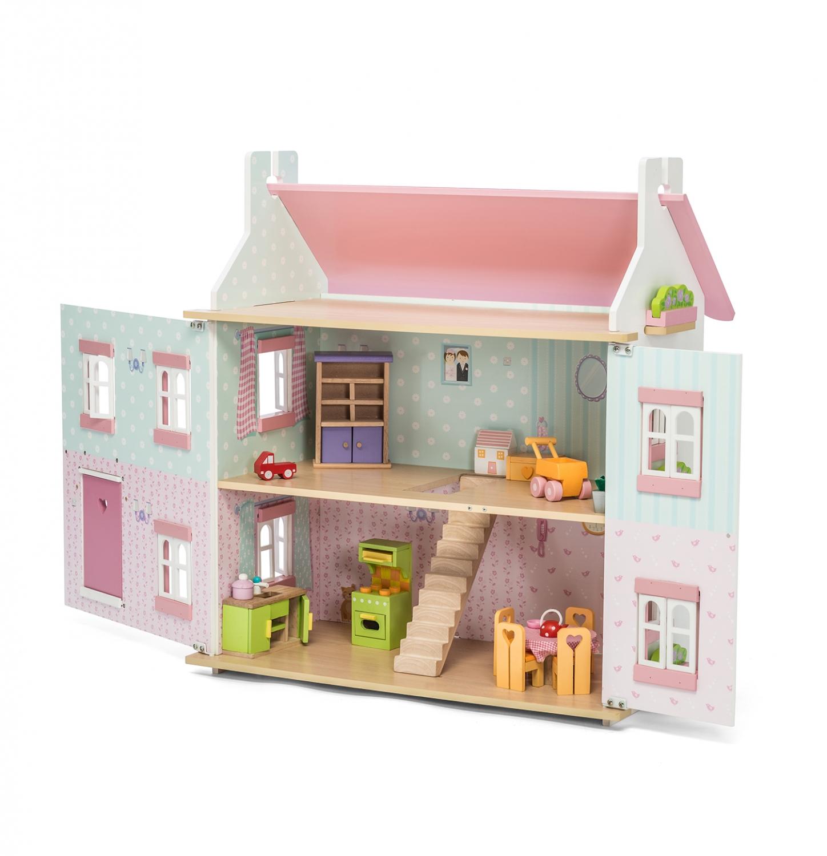 Sophie 39 s poppenhuis poppenhuis sofie le toy van houten for Poppenhuis voor peuters