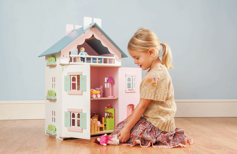doe net of je mama bent en richt dit poppenhuis zelf in. Black Bedroom Furniture Sets. Home Design Ideas