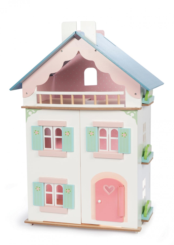 Doe net of je mama bent en richt dit poppenhuis zelf in - Afneembaar huis ...