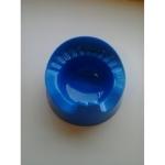 Blauw plaspotje