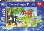 Legpuzzel - 2x24 Bambi - Ravensburger