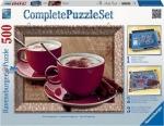Legpuzzel - 500 - Tijd voor cappuccino - met puzzellijst