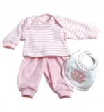 PlayTime Baby Outfits - Layette Set Pink