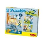 Politie en brandweer puzzels
