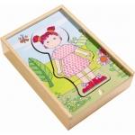 Haba – Houten puzzel – Lilly's lievelingskleren