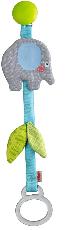 Haba - Speenketting blauw - Olifant