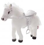 Paard wit met geluid - Götz