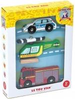 Noodvoertuigen set - Le Toy Van