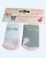 Corolle - 2 paar sokken - 36-42 cm