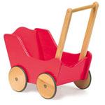 Loopwagen classic rood - Legler