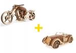 Voordeelpakket UGears - Klassieke voertuigen