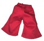 Kleding Handpoppen - Rode broek - 35cm