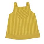 Handpoppen kleding - Gele jurk