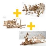 Voordeelpakket UGears - Mechanische stad