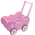 Poppenwagen Beauty Princess - Legler