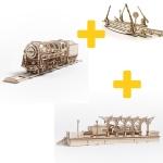 Voordeelpakket UGears - Spoorpakket