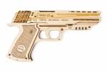 UGears Mechanisch houten pistool