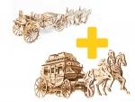 Voordeelpakket UGears - Paardenkoetsen