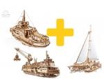 Voordeelpakket UGears - Vaartuigen