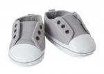 Instapschoentjes grijs met wit - 65 cm