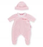 Corolle - Roze pyjama met muts - 36 cm