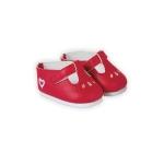 Corolle - Schoentjes rood - 42 cm