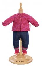 Corolle - Spijkerbroek en blouse - 42 cm