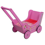 Loopwagen walky prinses roze - Knorrtoys