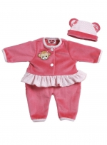 PlayTime Baby Outfits - Monkey Pink