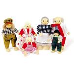 Poppenhuispoppen - Familie
