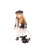 Hannah en haar hond - Götz pop
