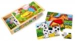 8 dierenpuzzels - Legler