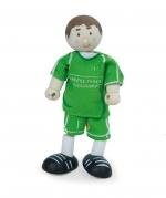 Poppenhuispop - voetballer nr 1 - Le Toy Van