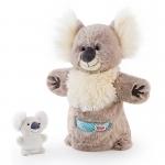 Handpop - Koala met baby - Trudi