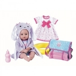 Bath Time Baby - 33cm - 7 delig