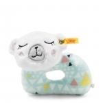 Rammelaar ijsbeer -12cm - Steiff