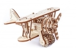 Dubbeldekker vliegtuigje - Wooden.City
