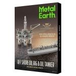Metal Earth - Oil Rig & Oil Tanker