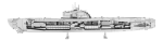 Metal Earth - German U-Boat