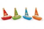 Zeilbootjes set van 4 - Legler