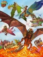 Legpuzzel - 400 - Vliegende draken
