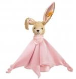 Steiff Knuffeldoek konijn roze
