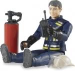 Bruder - speelfiguur - brandweerman