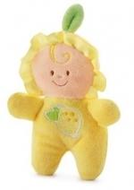 Trudi - citroen-popje met rammelaar - 9cm