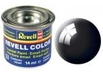 Nummer 7 Revell verf glanzend zwart