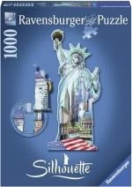 Legpuzzel - 1000 - Silhouette standbeeld