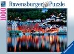 Legpuzzel - 1000 - Bergen in Noorwegen