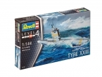 German Submarine XXIII - Revell